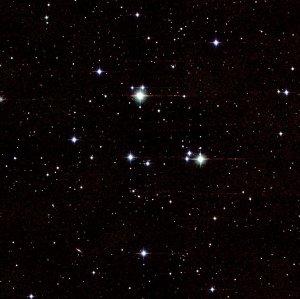 Objekt für das Fernglas: Der offene Sternhaufen M44 im Sternbild Krebs