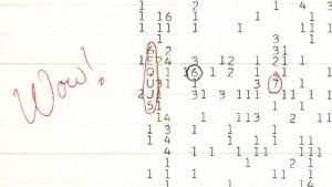Überraschung im Jahr 1977: Ein Radiosignal unbekannter Ursache aus dem Sternbild Schütze verblüfft die Forscher