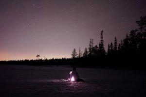 Unter dem Sternenhimmel: Kurze Beobachtungen in der Woche