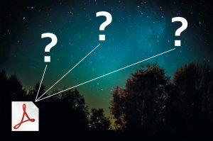 Sternkarten für Telrad-Sucher im pdf-Format