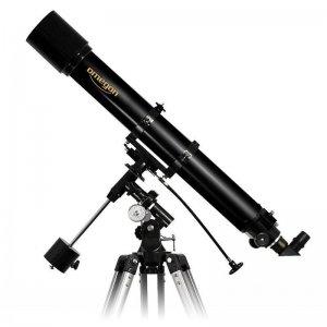 Ein Refraktorteleskop mit 1.000 mm Brennweite