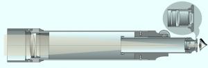 Schema Refraktorteleskop, Bild von Szőcs TamásTamasflex (Eigenes Werk) Lizenz: [url=http://creativecommons.org/licenses/by-sa/3.0/deed.de]CreativeCommons CC-BY-SA-3.0[/url]
